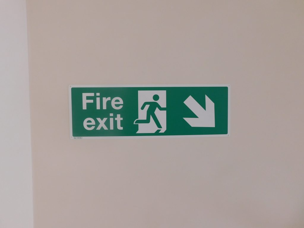 Fire Exits and Safety